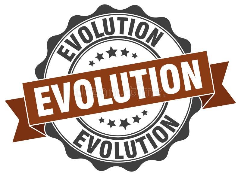 σφραγίδα εξέλιξης γραμματόσημο ελεύθερη απεικόνιση δικαιώματος