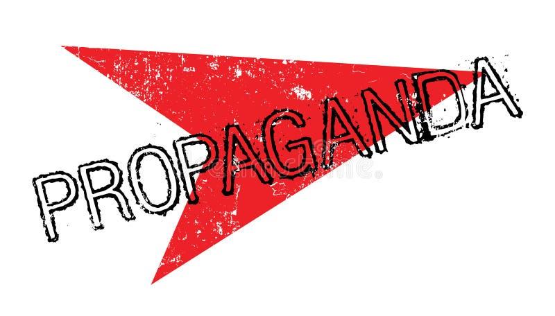 Σφραγίδα προπαγάνδας ελεύθερη απεικόνιση δικαιώματος