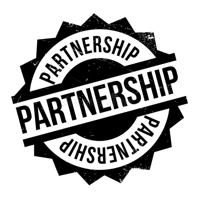 Σφραγίδα συνεργασίας διανυσματική απεικόνιση