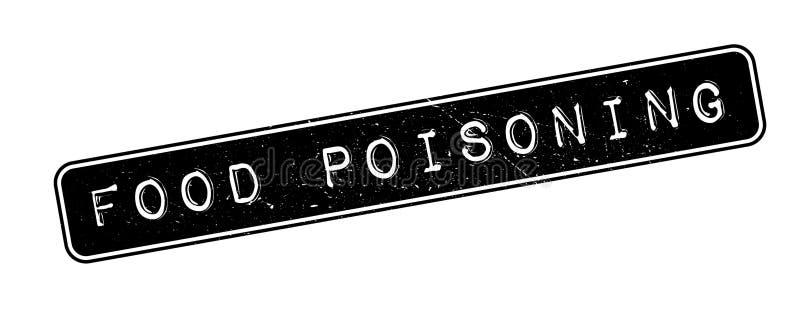 Σφραγίδα τροφικής δηλητηρίασης ελεύθερη απεικόνιση δικαιώματος