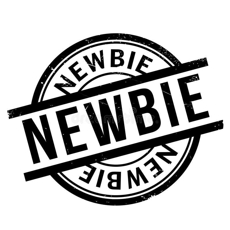 Σφραγίδα Newbie διανυσματική απεικόνιση