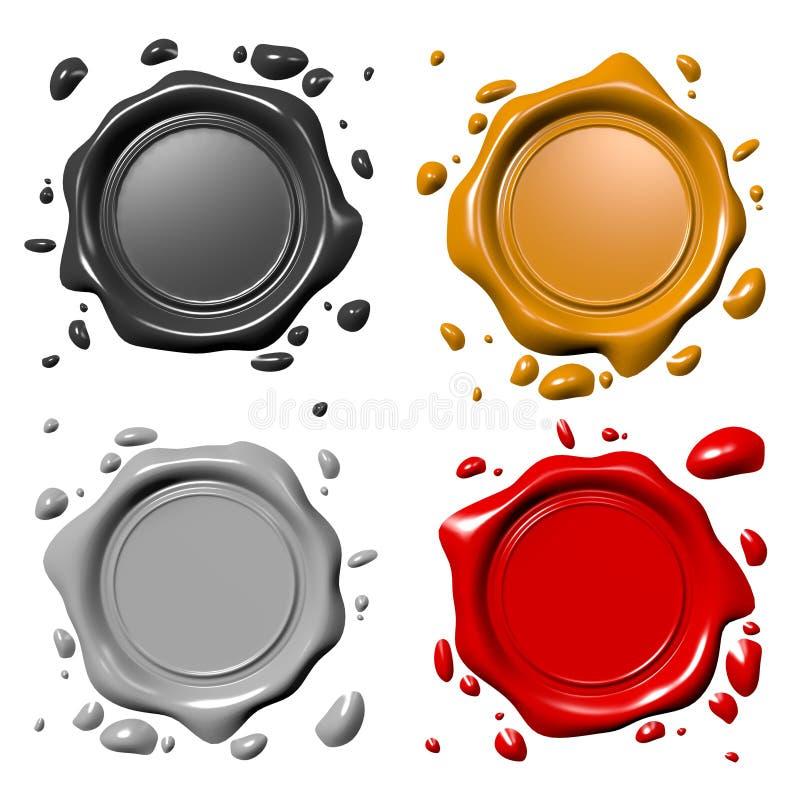 σφραγίδες απεικόνιση αποθεμάτων