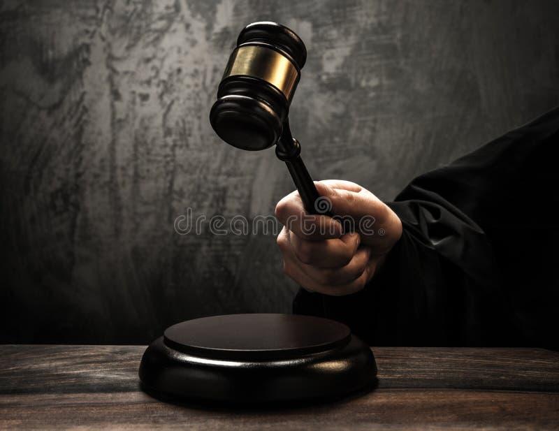 Σφυρί δικαστή στοκ εικόνες