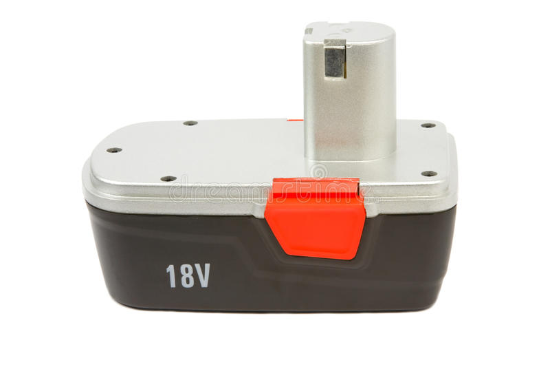 σφυρί τρυπανιών μπαταριών rechargeble στοκ φωτογραφία με δικαίωμα ελεύθερης χρήσης