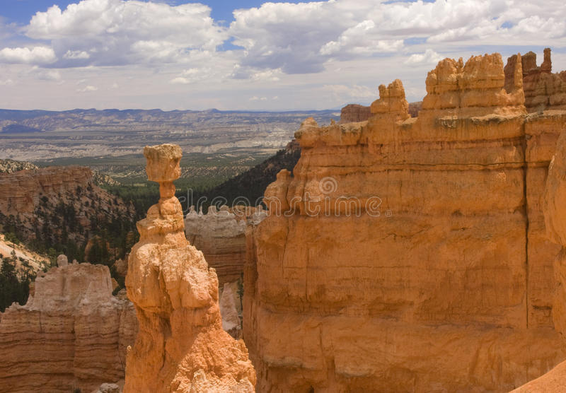 Σφυρί Thor στο εθνικό πάρκο φαραγγιών του Bryce στοκ φωτογραφίες