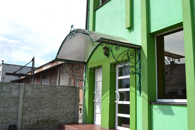 Σφυρηλατημένη στέγη στοκ φωτογραφία με δικαίωμα ελεύθερης χρήσης