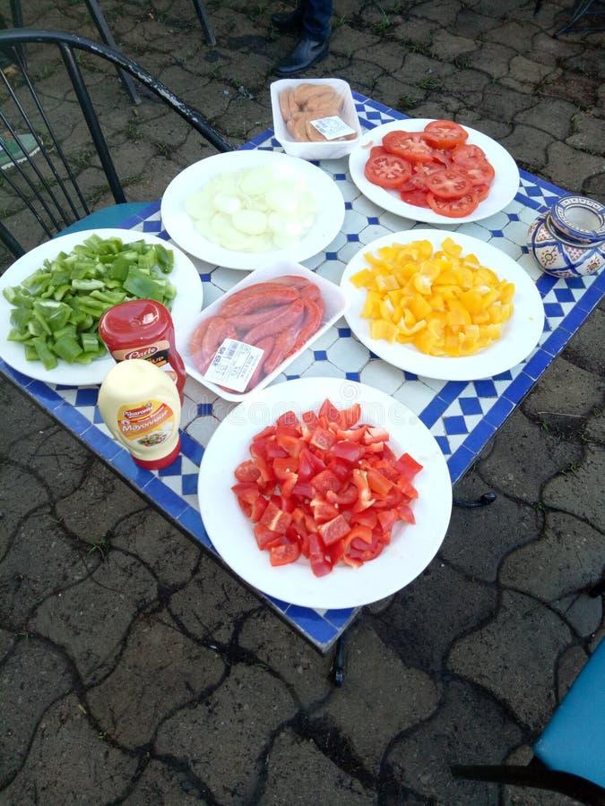 Σχάρα τροφίμων στοκ εικόνες