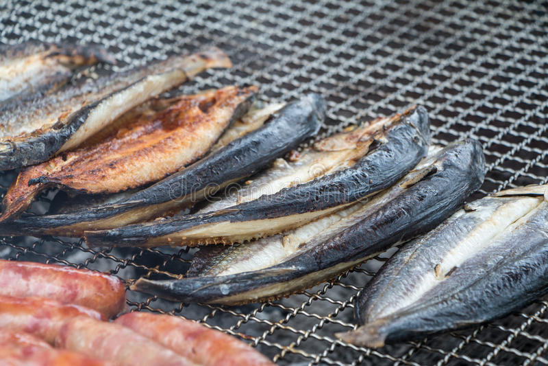 σχάρα ψαριών στοκ εικόνα με δικαίωμα ελεύθερης χρήσης