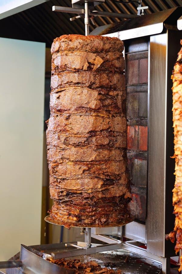 Σχάρα Kebab αρνιών στοκ εικόνες