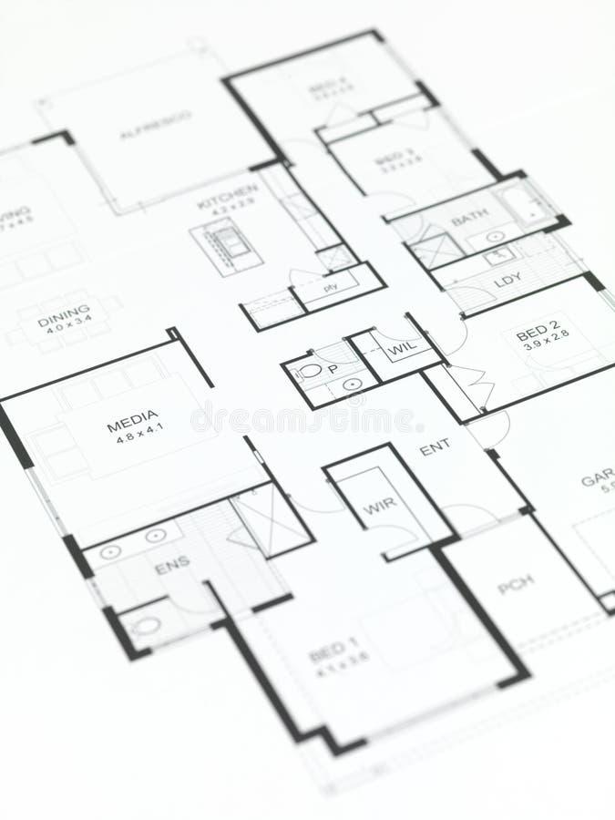 σχέδια σπιτιών στοκ εικόνα