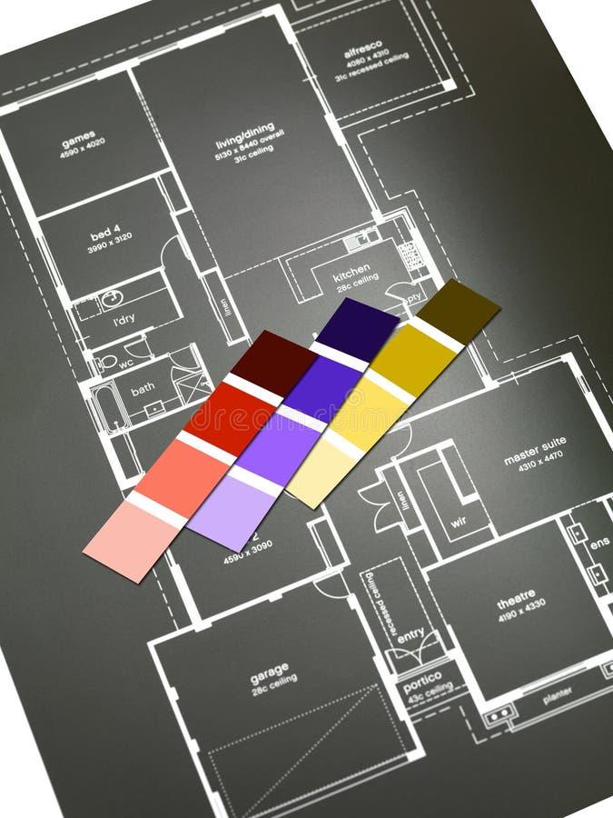 Σχέδια σπιτιών στοκ εικόνες