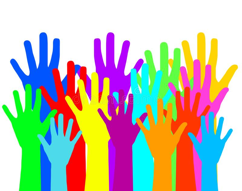 Σχέδιο έννοιας ποικιλομορφίας, διανυσματική απεικόνιση eps10 γραφική ελεύθερη απεικόνιση δικαιώματος