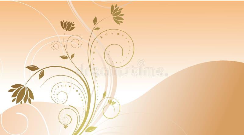 σχέδιο ανασκόπησης floral ελεύθερη απεικόνιση δικαιώματος