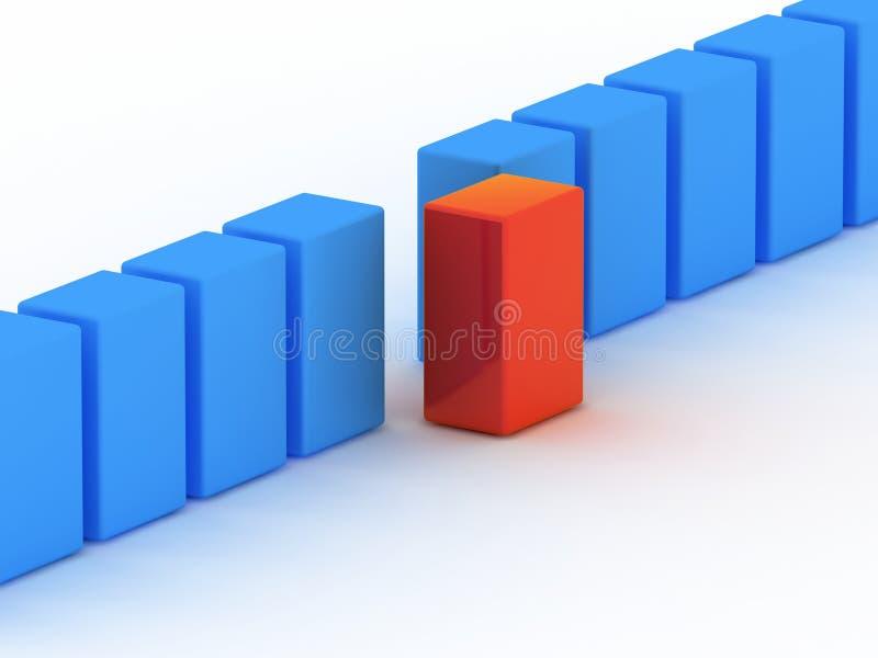 σχέδιο ανταγωνισμού διανυσματική απεικόνιση