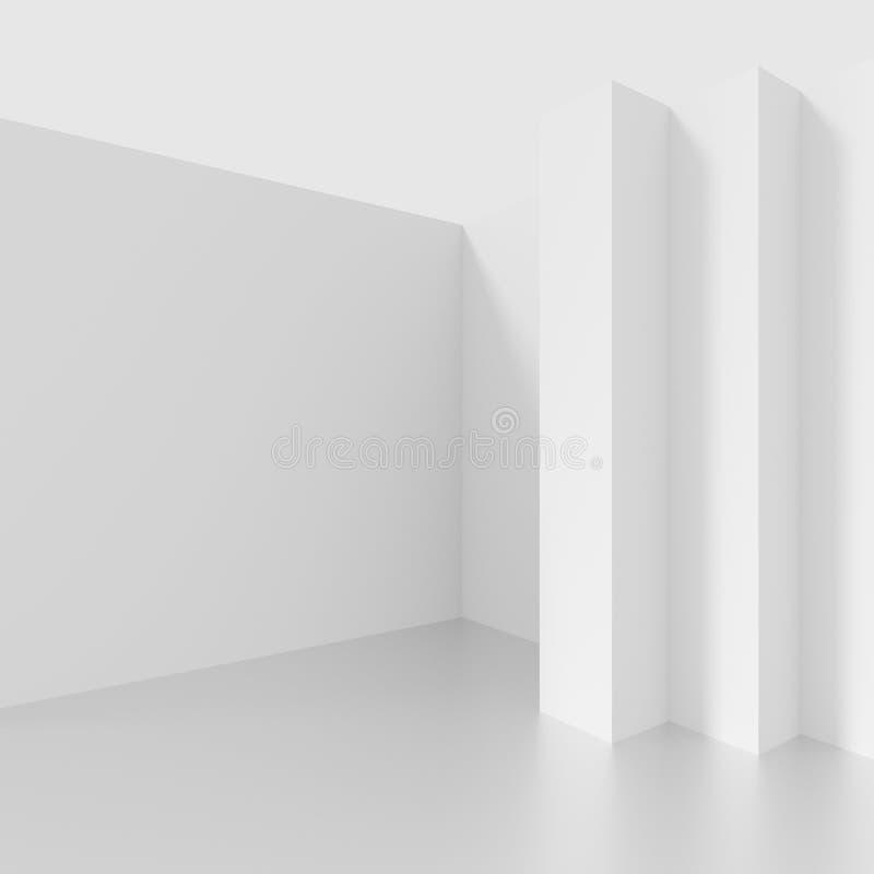 σχέδιο αρχιτεκτονικής φ&omi Άσπρο υπόβαθρο με μινιμαλιστικό απεικόνιση αποθεμάτων