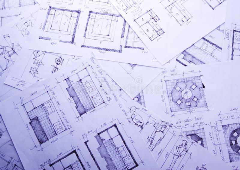 σχέδιο αρχιτεκτονικής στοκ φωτογραφίες με δικαίωμα ελεύθερης χρήσης