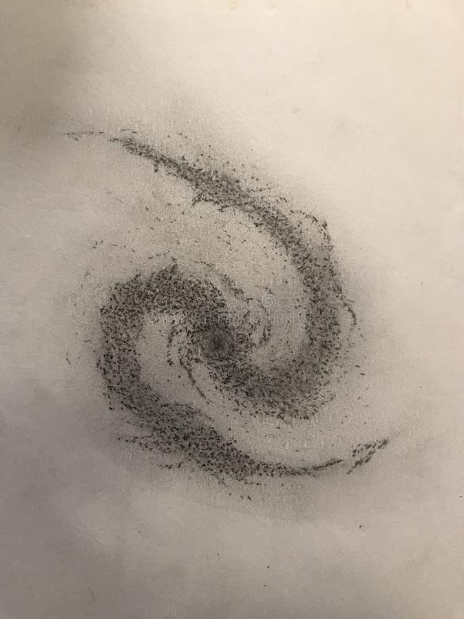 Σχέδιο γαλαξιών στοκ φωτογραφία