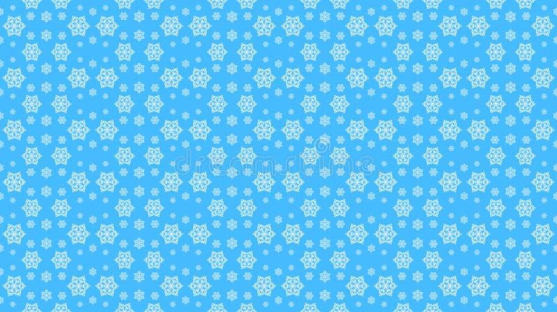 Σχέδιο για τα Χριστούγεννα και τις νέες διακοπές έτους, άσπρα snowflakes επάνω απεικόνιση αποθεμάτων