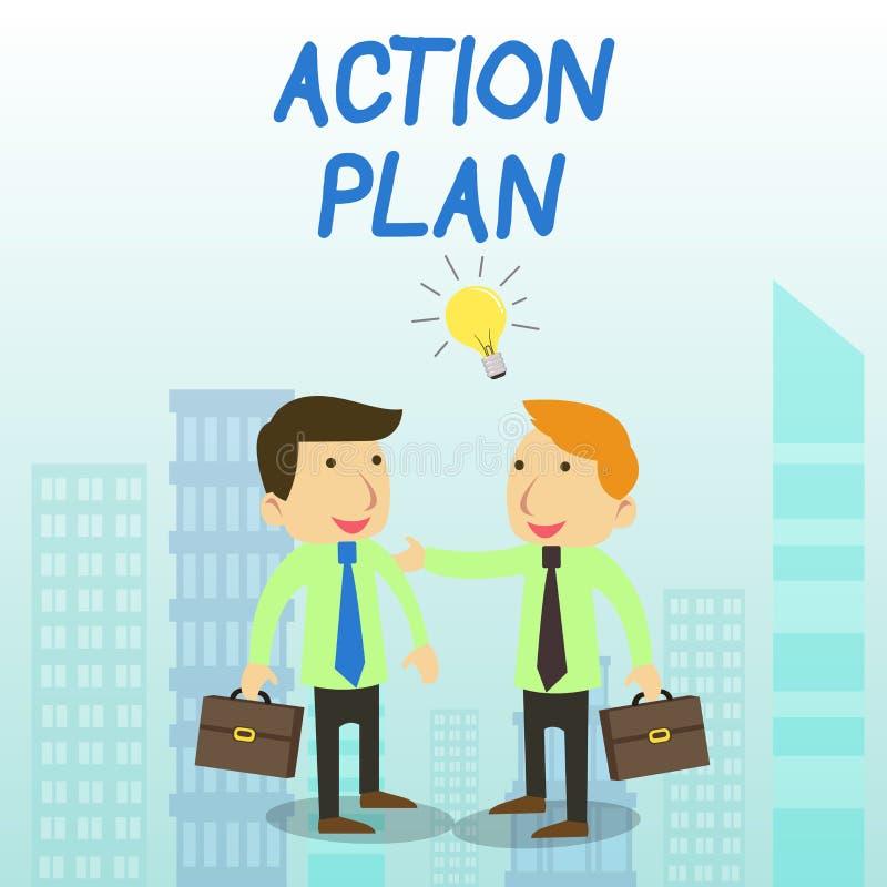 Σχέδιο δράσης κειμένων γραψίματος λέξης Επιχειρησιακή έννοια για τον προτεινόμενο χρόνο δύο στρατηγικής ή σχεδίων δράσης για ορισ απεικόνιση αποθεμάτων