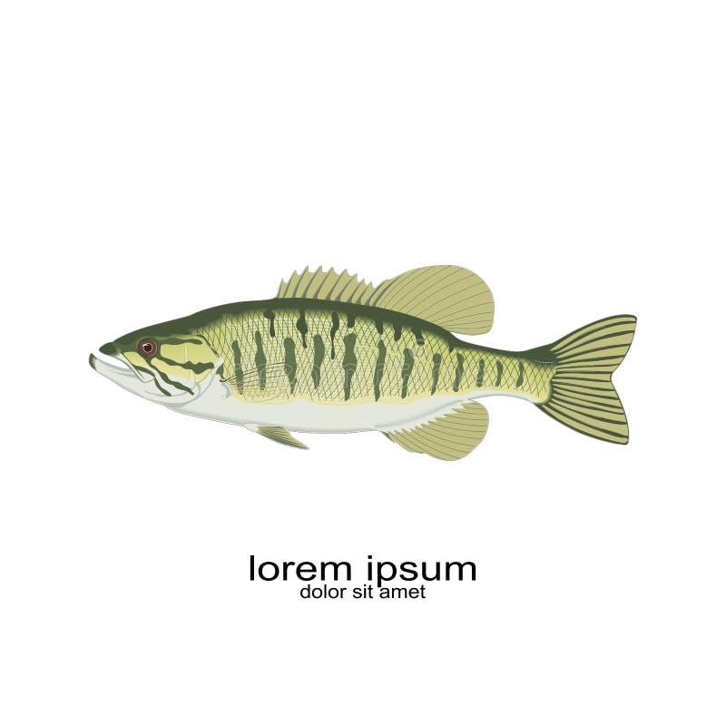 Σχέδιο ζωικός pisces λογότυπων ψαριών ελεύθερη απεικόνιση δικαιώματος