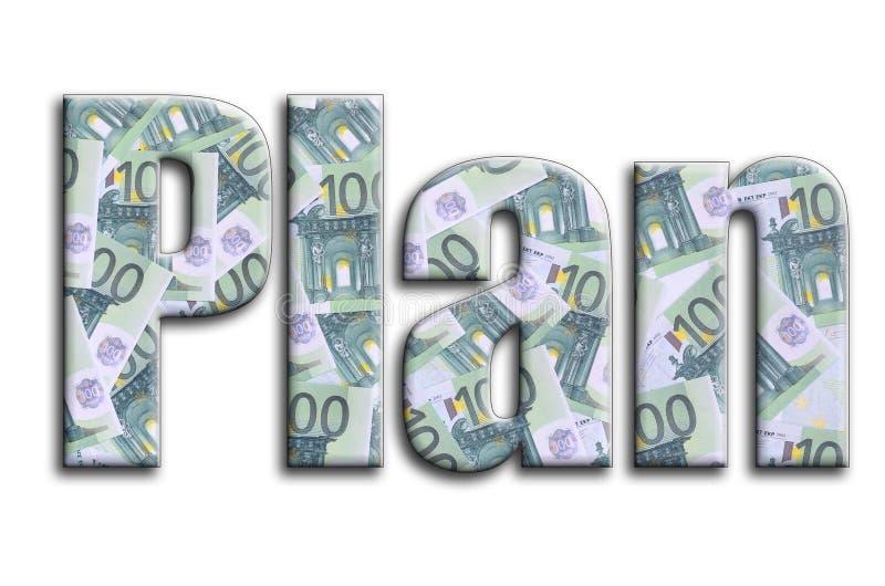 σχέδιο Η επιγραφή έχει μια σύσταση της φωτογραφίας, η οποία απεικονίζει πολλούς 100 ευρο- λογαριασμούς χρημάτων στοκ φωτογραφία με δικαίωμα ελεύθερης χρήσης