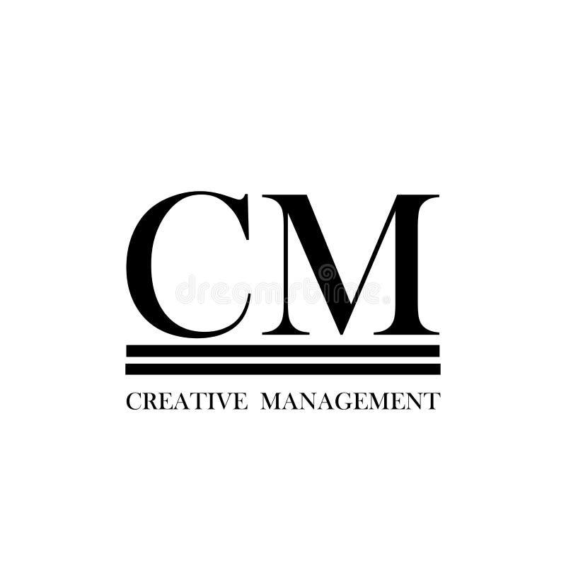 Σχέδιο λογότυπων Entertaiment ή διαχείρισης απεικόνιση αποθεμάτων