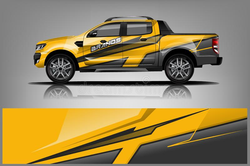 Σχέδιο περικαλυμμάτων φορτηγών για την επιχείρηση απεικόνιση αποθεμάτων