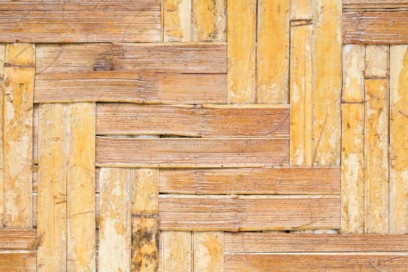 Σχέδιο της παλαιάς εκλεκτής ποιότητας ξύλινης επιτροπής μπαμπού στοκ εικόνες