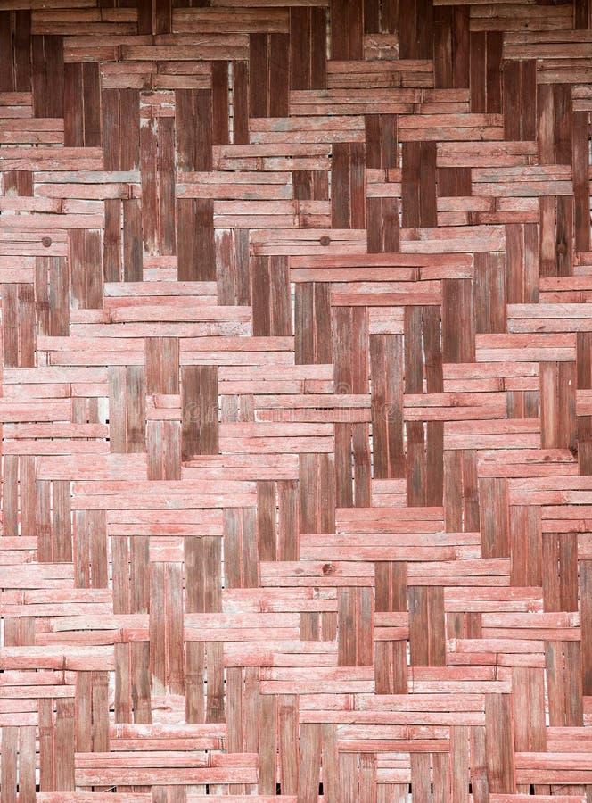 Σχέδιο της παλαιάς εκλεκτής ποιότητας ξύλινης επιτροπής μπαμπού στοκ φωτογραφίες με δικαίωμα ελεύθερης χρήσης