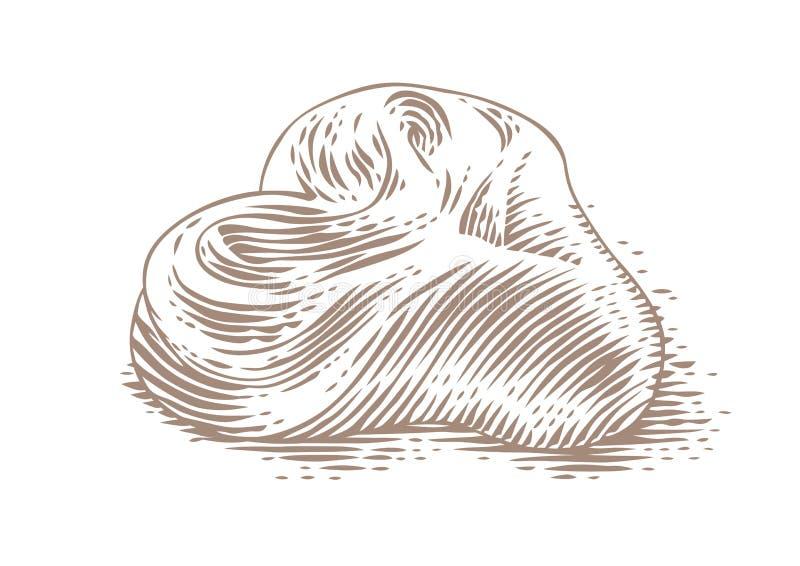 Σχέδιο του κουλουριού στοκ εικόνες με δικαίωμα ελεύθερης χρήσης