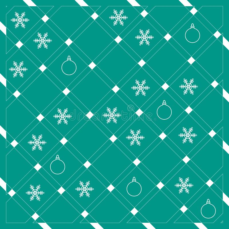 Σχέδιο των διαγώνιων λωρίδων ή των γραμμών στα συμπαθητικά χρώματα με το snowfla διανυσματική απεικόνιση