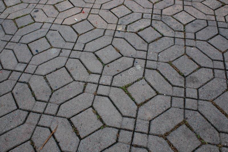 Σχέδιο των τριγώνων μέσα στους κύκλους μέσα στα τετράγωνα στοκ εικόνες