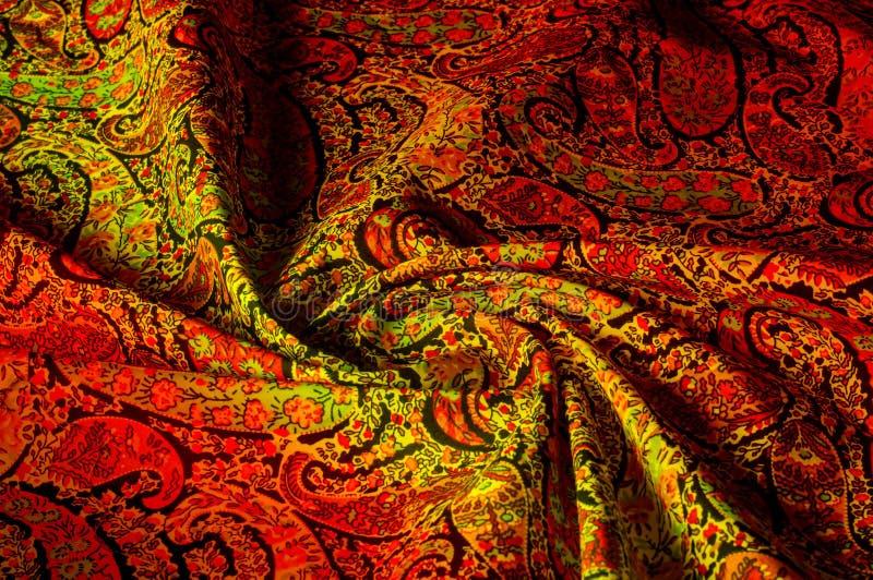Σχέδιο υποβάθρου σύστασης Εκλεκτής ποιότητας floral μοτίβο του Paisley εθνικό στοκ φωτογραφία με δικαίωμα ελεύθερης χρήσης