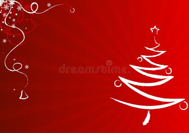 σχέδιο Χριστουγέννων καρτών ελεύθερη απεικόνιση δικαιώματος