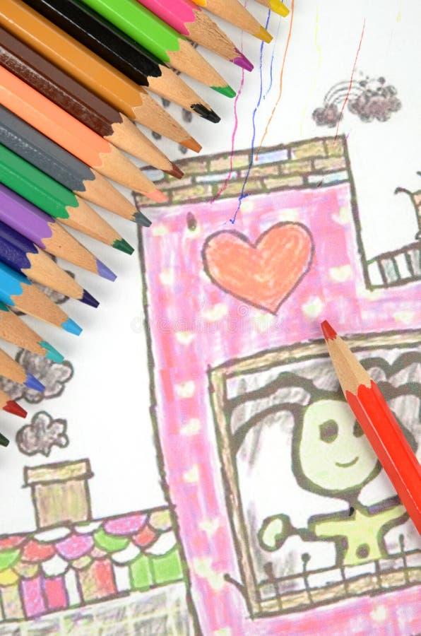 Download σχέδιο στοκ εικόνα. εικόνα από childhood, ανασκόπησης - 22778633
