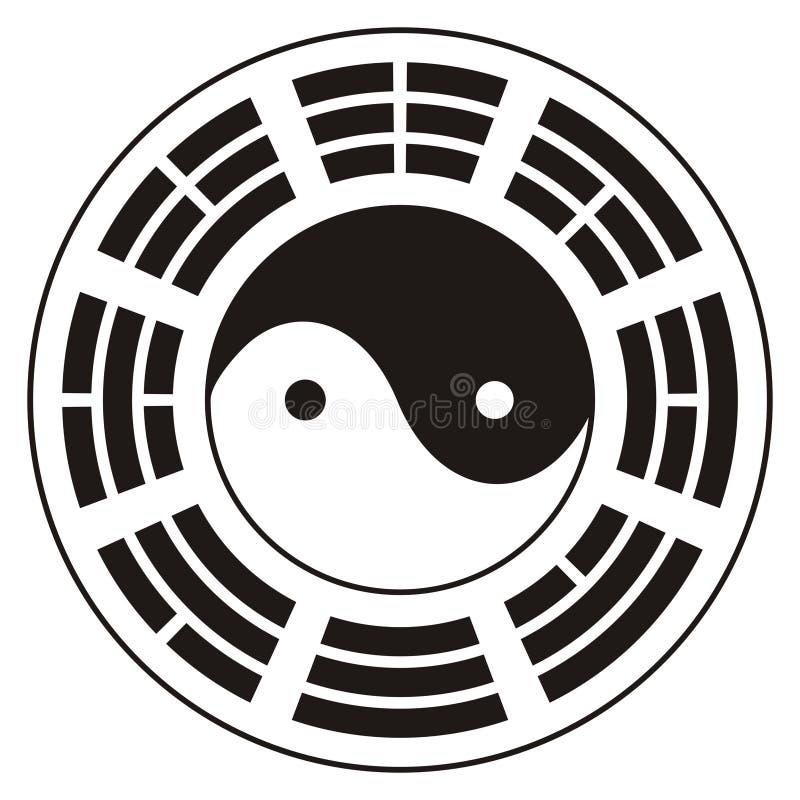 σχέδιο yang yin απεικόνιση αποθεμάτων