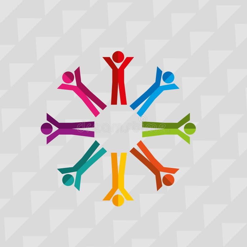 σχέδιο έννοιας ποικιλομορφίας διανυσματική απεικόνιση