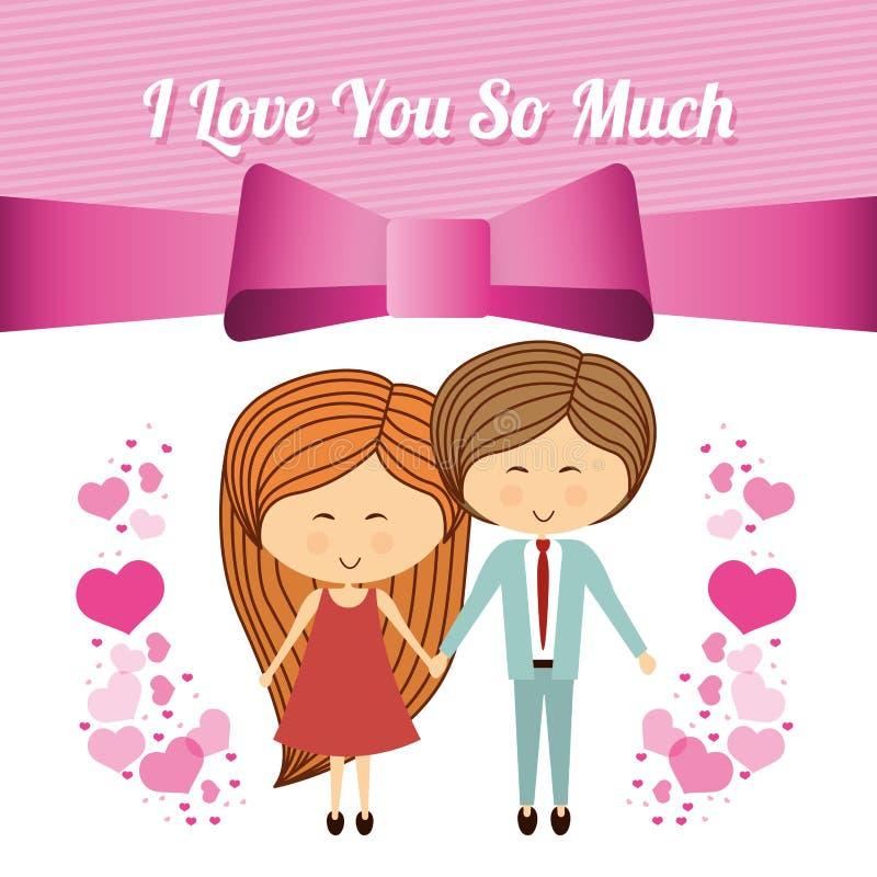 Σχέδιο αγάπης διανυσματική απεικόνιση
