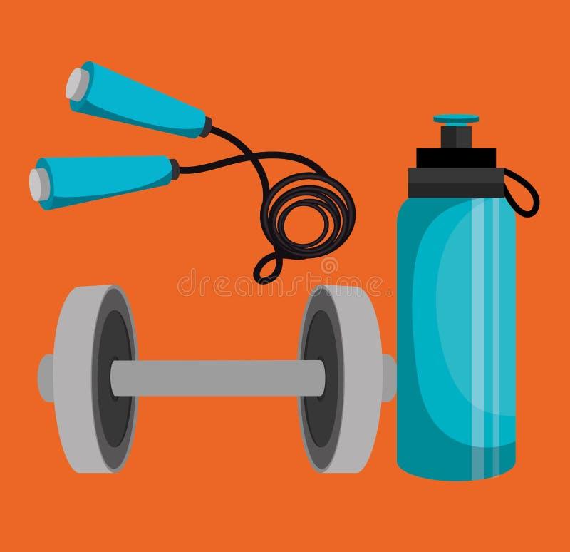 σχέδιο αθλητικής ικανότητας απεικόνιση αποθεμάτων