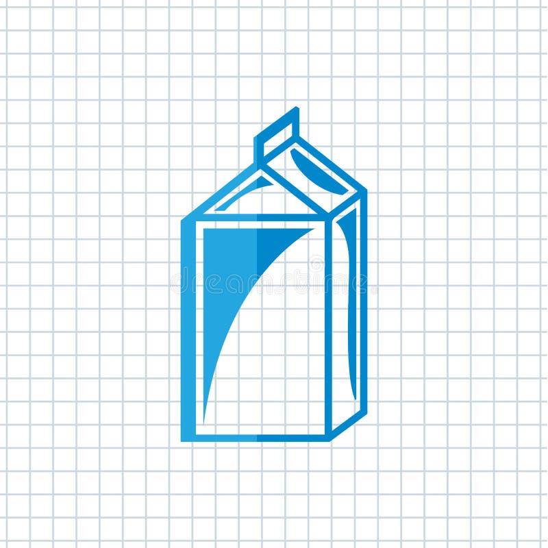 σχέδιο γαλακτοκομικών προϊόντων διανυσματική απεικόνιση