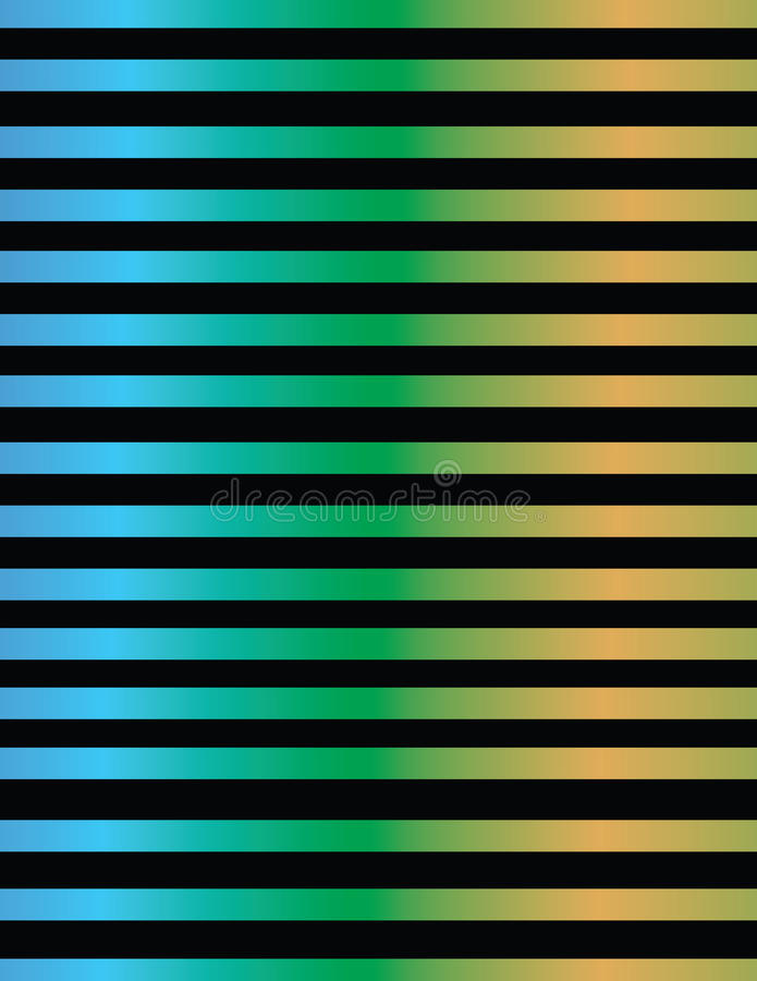 Σχέδιο γραμμών στις μεταλλικές κλίσεις χρώματος απεικόνιση αποθεμάτων