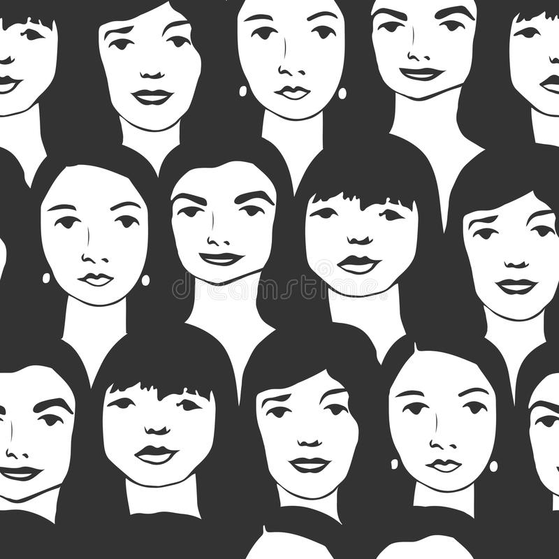Σχέδιο γυναικών ελεύθερη απεικόνιση δικαιώματος