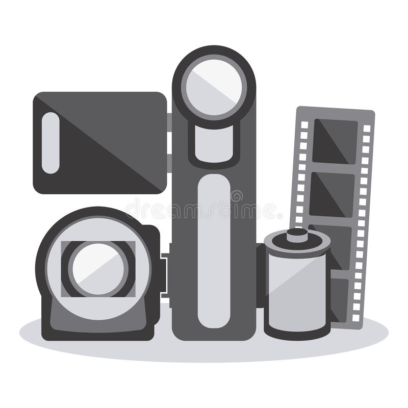 Download Σχέδιο εικονιδίων κινηματογράφων Διανυσματική απεικόνιση - εικονογραφία από γεγονός, hollywood: 62701963