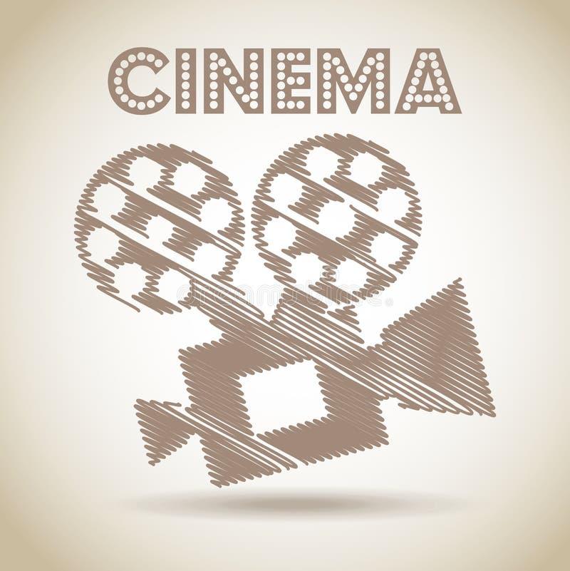 Download Σχέδιο εικονιδίων κινηματογράφων Διανυσματική απεικόνιση - εικονογραφία από θέατρο, hollywood: 62701965