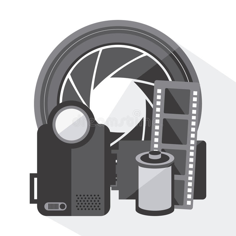 Download Σχέδιο εικονιδίων κινηματογράφων Διανυσματική απεικόνιση - εικονογραφία από εικόνα, σημάδι: 62701977