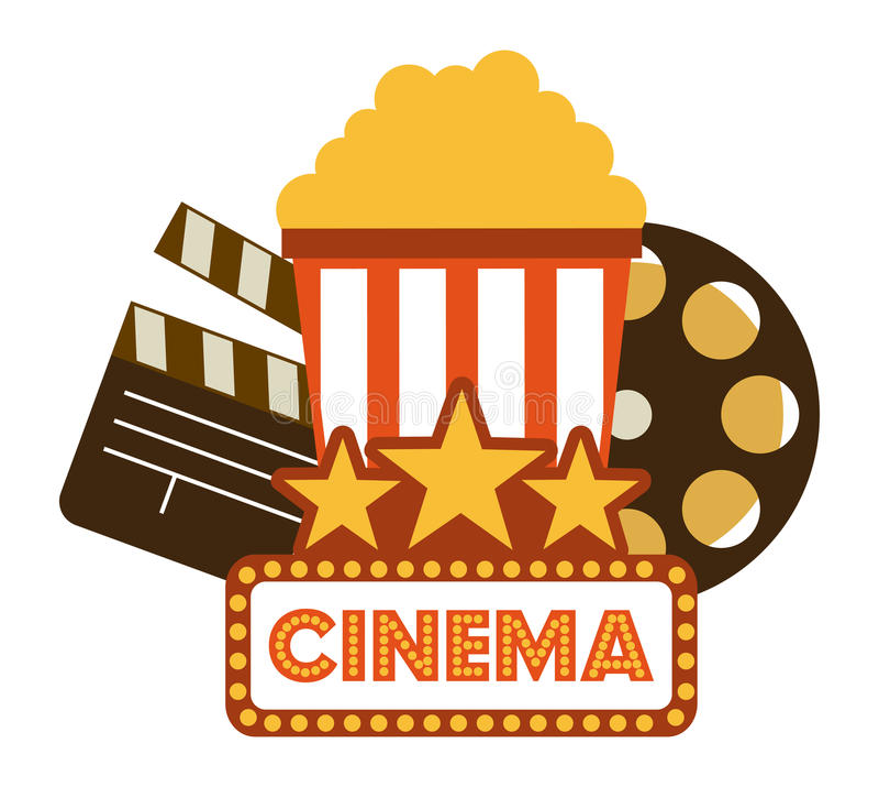 Download Σχέδιο εικονιδίων κινηματογράφων Διανυσματική απεικόνιση - εικονογραφία από σύμβολο, διάνυσμα: 62702071