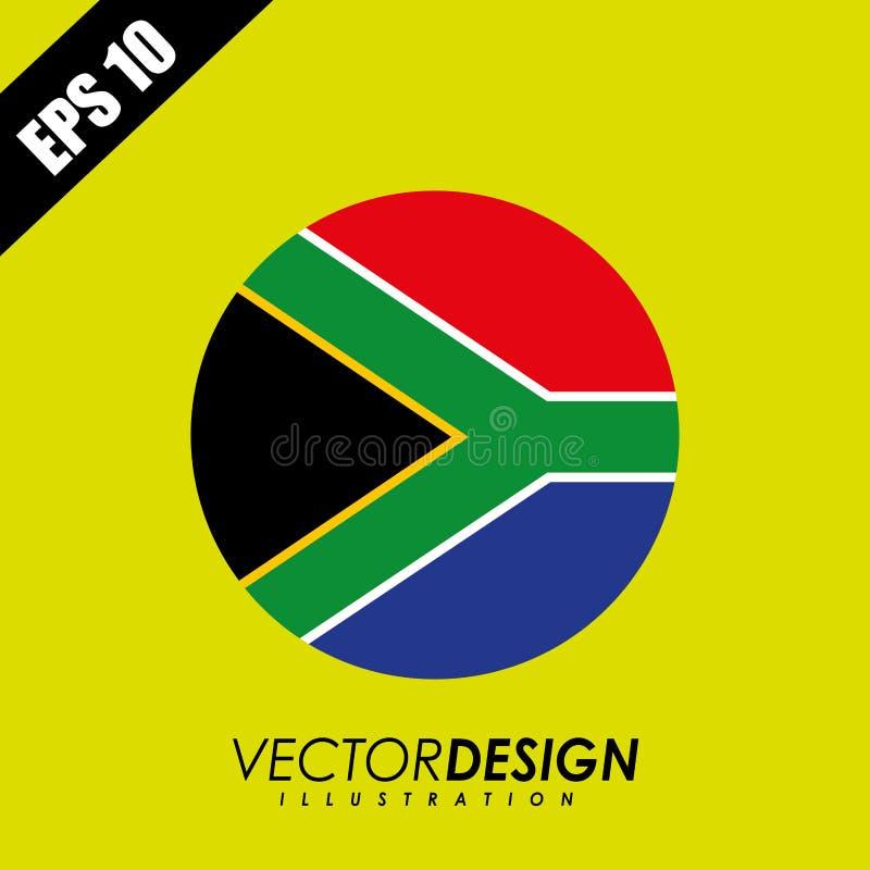 Σχέδιο εικονιδίων σημαιών απεικόνιση αποθεμάτων