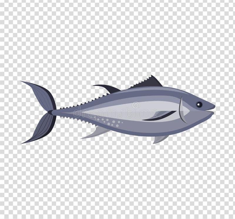Σχέδιο εικονιδίων ψαριών επίπεδο διανυσματική απεικόνιση