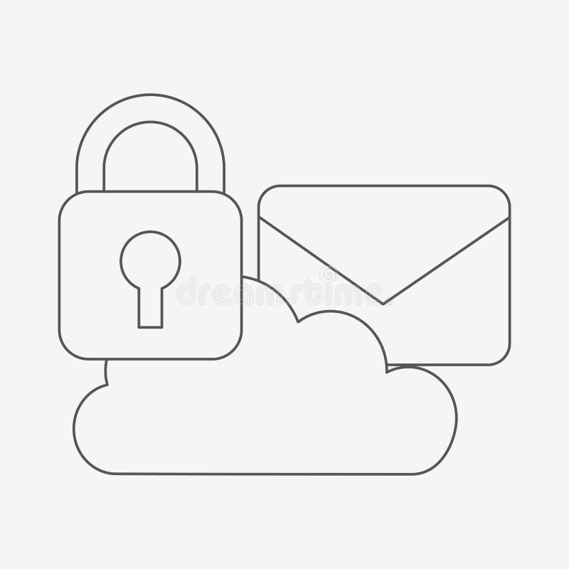 Σχέδιο επιχειρησιακής ασφάλειας ελεύθερη απεικόνιση δικαιώματος