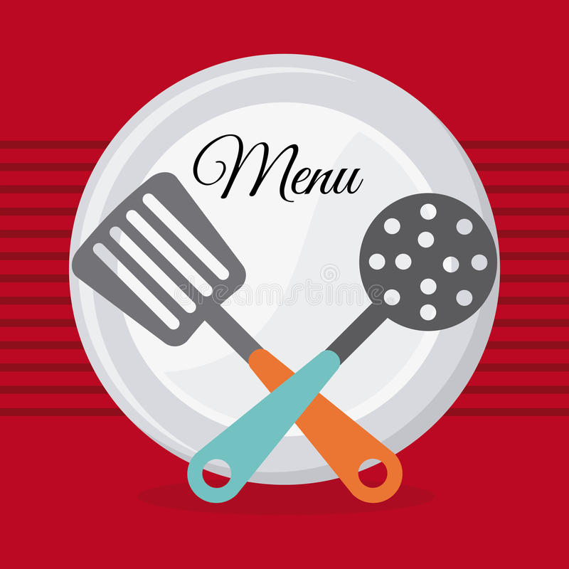 Download Σχέδιο επιλογών και τροφίμων Διανυσματική απεικόνιση - εικονογραφία από παρουσίαση, τορναδόρος: 62702456